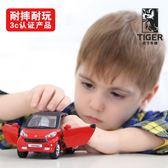 奔馳車模兒童合金玩具車小汽車模型仿真男孩回力車小車警車台秋節88折