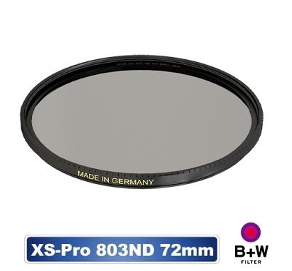 B+W XS-PRO 803 ND 0.9 ND8 MRC nano 72mm 高硬度奈米鍍膜 減3格【公司貨】BWF