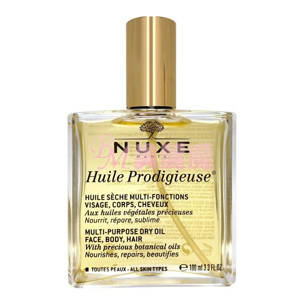 【美麗魔】NUXE 黎可詩 全效晶亮精華油 100ml 大瓶裝 護理油