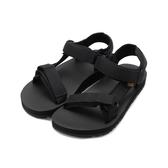 TEVA MIDFORM ORIGINAL 厚底織帶涼鞋 黑 TV1090969BLK 女鞋