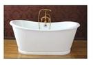 【麗室衛浴】BATHTUB WORLD高級獨立式鑄鐵浴缸NH-1008-10   1676*720*650/730mm 白色
