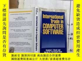 二手書博民逛書店international罕見trade in computer