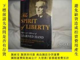 二手書博民逛書店The罕見Spirit Of Liberty-自由精神Y436638 Learned Hand Alfred
