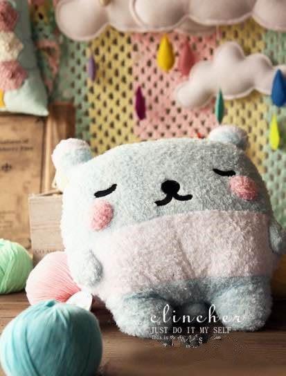 【發現。好貨】日本治癒系萌物 療傷系娃娃 夢神 夢之首護者毛絨娃娃小熊狗娃娃
