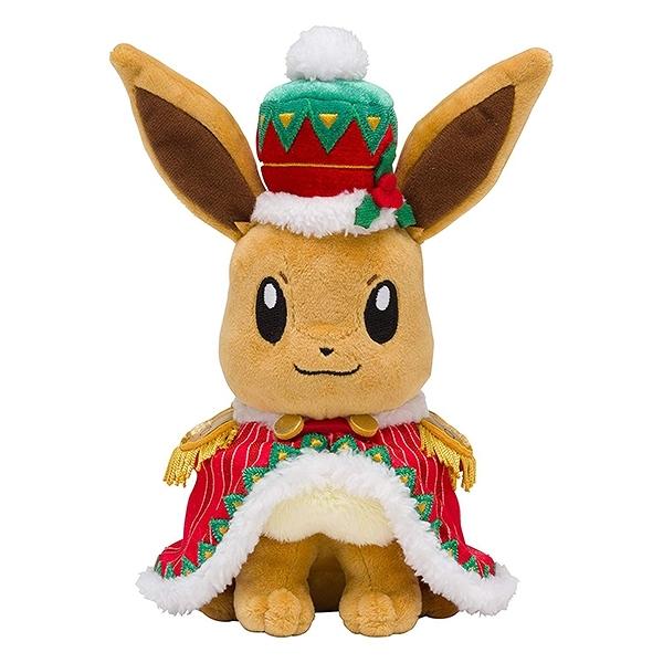 【聖誕伊布娃娃】聖誕節 伊布 絨毛玩偶 娃娃 寶可夢 日本正品 該該貝比日本精品 ☆