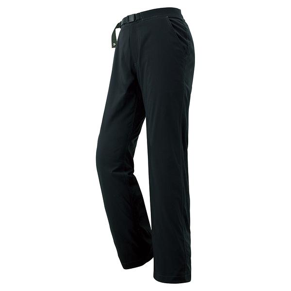 [好也戶外]mont‧bell OD Lining Pants 女款薄刷毛長褲 No.1105438-BK/LTN