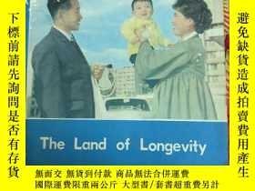二手書博民逛書店【罕見】the land of longevity 【英文版】【
