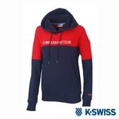 K-SWISS Hooded Sweat Shirts休閒連帽上衣-女-紅