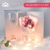 ins超火的生日禮物禮盒閨蜜女生抖音同款圣誕小仙女網紅走心花束『艾莎嚴選』