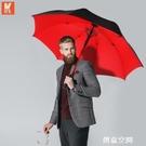 自動雨傘大號加固抗風暴傘個性創意潮流長柄男士雙人超大號三人傘 創意空間 NMS