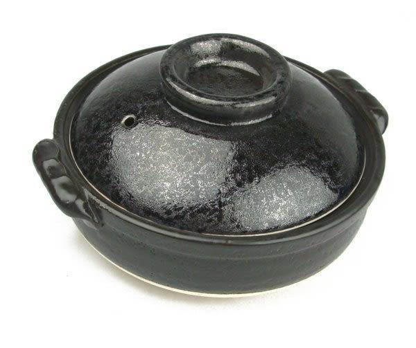 日本陶瓷【萬古燒】油滴天目 9號深鍋 土鍋 砂鍋 陶鍋