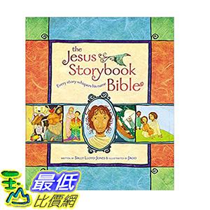 [106美國直購] 2017美國暢銷書 The Jesus Storybook Bible:Every Story Whispers His Name