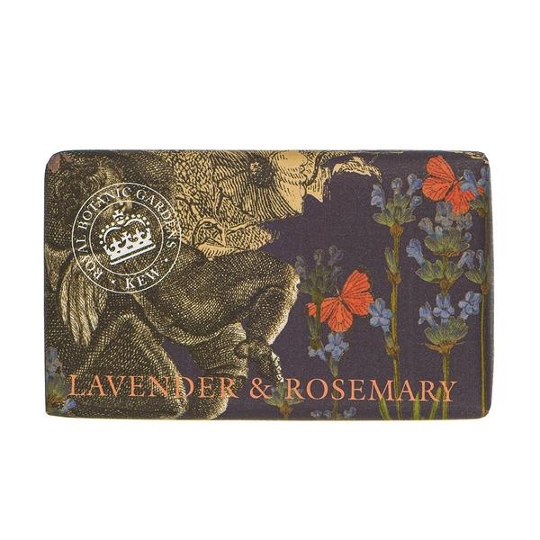 岡山戀香水~Kew Gardens 英國皇家植物園 乳木果油天然香皂 240g (薰衣草與迷迭香) ~優惠價:299元