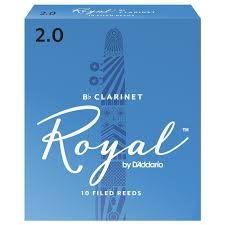 凱傑樂器 ROYAL CLARINT 10片裝 豎笛 竹片 2號半
