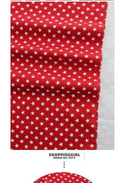 純棉帆布 DIY手工布料 進口布料 迷你小星星