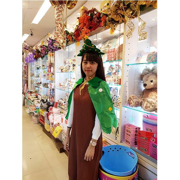 節慶王【X030015】聖誕樹披風60cm,化妝舞會/角色扮演/尾牙表演/萬聖節/聖誕節/兒童變裝