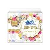 蘇菲繽紛香氣超薄護墊-沐浴清新14cm X80片【愛買】