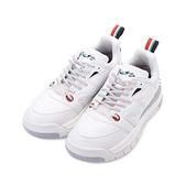 LOTTO ATHLETICA SIRIUS 義式復古老爹鞋 白 LT9AWR1229 女鞋