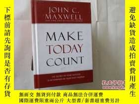 二手書博民逛書店MAKE罕見TODAY COUNT【426】Y10970 Joh