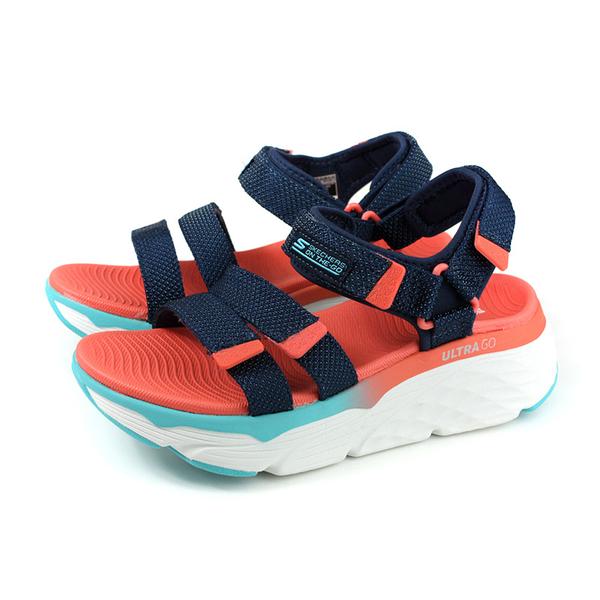 SKECHERS ON THE-GO 運動鞋 涼鞋 女鞋 深藍/橘 140120NVMT no155