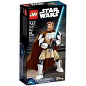 75109【LEGO 樂高積木】星際大戰 Star Wars-組裝戰士 Obi-Wan Kenobi