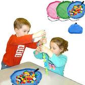 【BlueCat】兒童玩具快速圓形收納袋