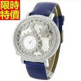 鑽錶-嚴選品味高貴女手錶6色5j110[巴黎精品]