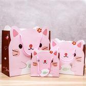 春季上新 小清新生日卡通創意包裝袋禮品袋手提袋可愛禮物袋紙袋子小號大號