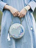刺繡DIY 王的手創 手工DIY制作刺繡材料包成人手作口金包套裝立體創意禮物-凡屋