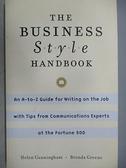 【書寶二手書T2/原文小說_CJF】The Business Style Handbook