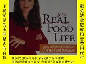 二手書博民逛書店英文原版罕見Get a Real Food Life by Ja