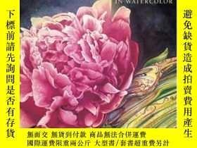 二手書博民逛書店Vibrant罕見Flowers In WatercolorY364682 Soon Y. Warren No