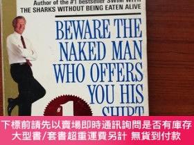 二手書博民逛書店Beware罕見the naked man who offers you his shirtY438950 H