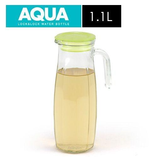 原價259下殺↘樂扣樂扣沁涼玻璃水壺1.1L(橄欖綠色)