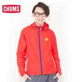 CHUMS 日本 男 Breeze 超輕量防風外套 紅 CH041001R001