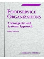 二手書博民逛書店《Foodservice organizations : a m