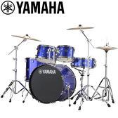 小叮噹的店-全新 YAMAHA RYDEEN 藍色爵士鼓(5件套組) RDP2F5