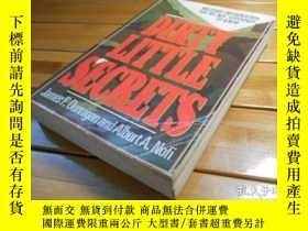 二手書博民逛書店DIRTY罕見LITTLE SECRETSY20470 JAME