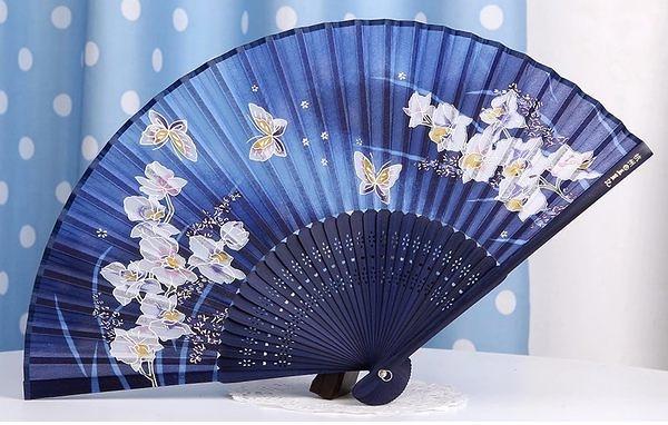 日式真絲櫻花 工藝和風絹扇20