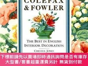 二手書博民逛書店Colefax罕見and Fowler: The Best in English Interior Decorat