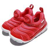 Nike 毛毛蟲鞋 Dynamo Free TD 橘 白 嬰兒鞋 幼兒鞋 小童鞋【PUMP306】 343938-624