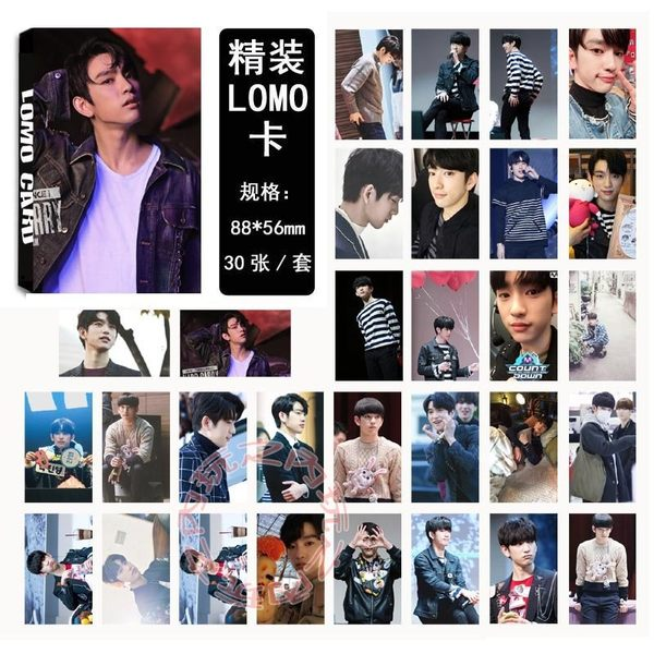 GOT7 朴珍榮 紙片小卡 LOMO照片卡片組(30張)E608-E【玩之內】韓國