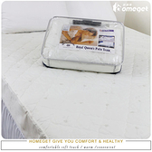 家適得『R.Q.POLO精品專櫃-床包式保潔墊』雙人加大6X6.2尺(100%台灣精製)抗菌防蹣又除臭