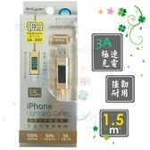 【九元生活百貨】SC3CL94 LED數位電表iPhone充電傳輸線/1.5m 高速傳輸充電線 USB傳輸線 蘋果手機充電線