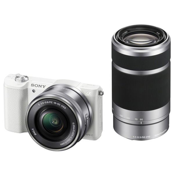 2/9前送原電 6期零利率 SONY ILCE-5100Y 雙鏡組 公司貨-拆鏡 白色