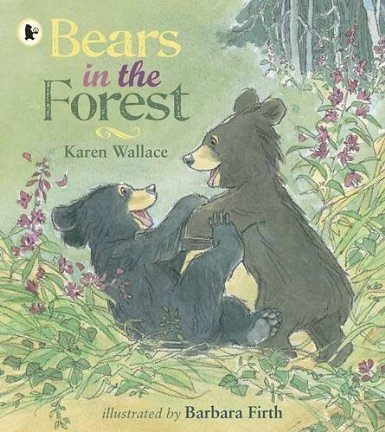 【麥克書店】BEARS IN THE FOREST /英文繪本附CD 《主題:自然科學》