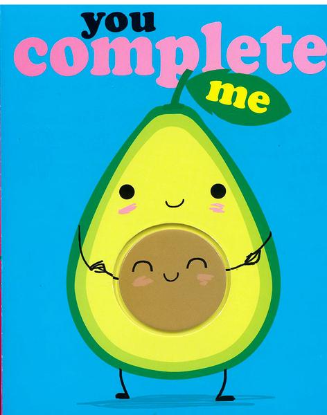 【麥克書店】YOU COMPLETE ME /硬頁觸摸書《主題: 食物.溫馨情誼》真的超可愛~