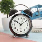 床頭懶人創意床頭個性鬧鐘超大聲學生靜音臥室夜燈小鬧鐘臺鐘時鐘夢想巴士
