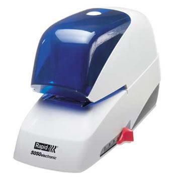 ※亮點OA文具館※ (免運) 瑞典 RAPID R-5050E 電動平針訂書機 2-50張