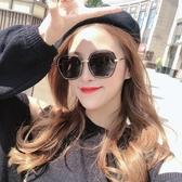 新款偏光太陽鏡女圓臉韓版潮防紫外線大臉眼鏡帶有度數 花樣年華